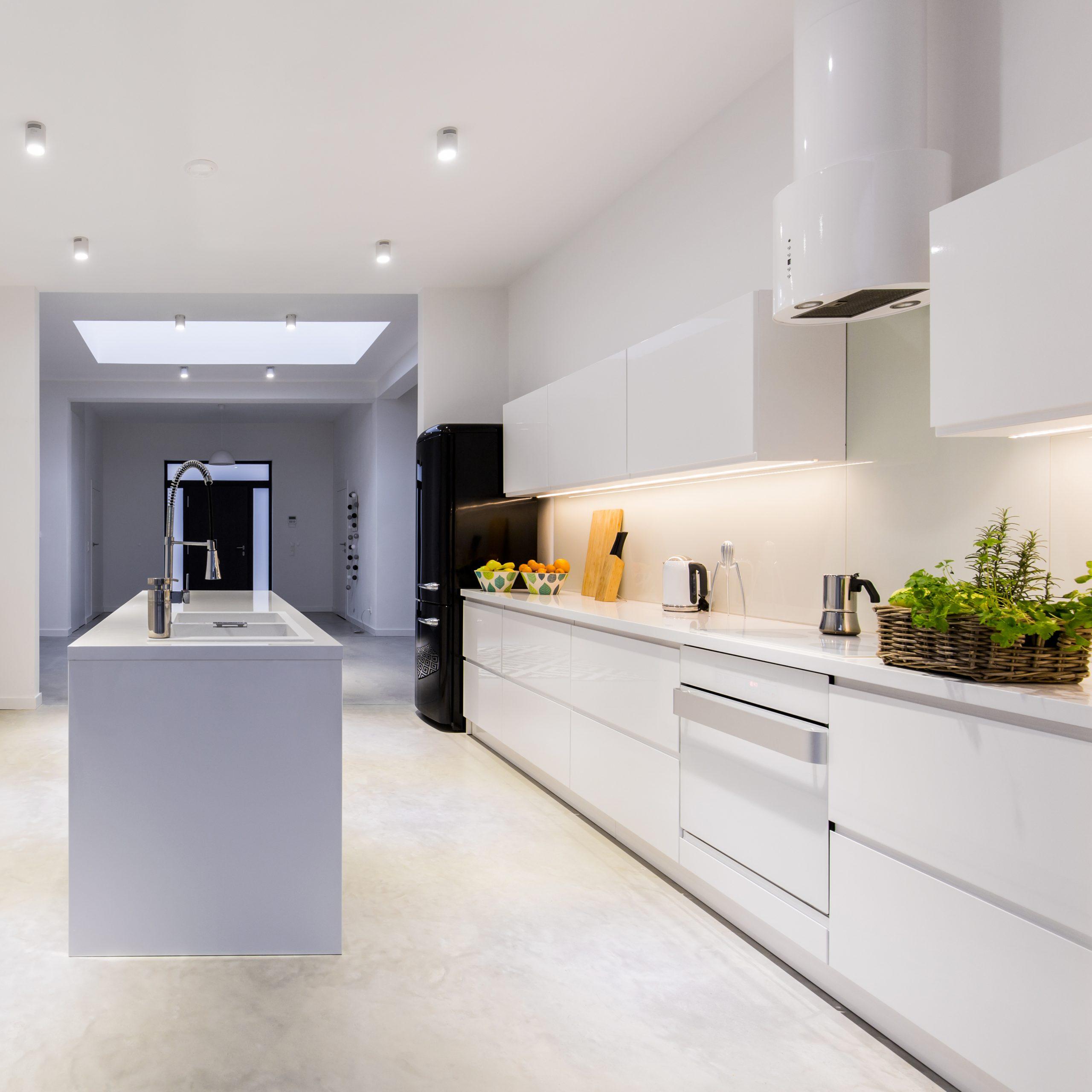 Flooring in Kitchen